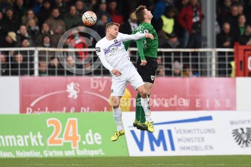 Osnapix Bildagentur 3 Liga 1516 Sc Preussen Muenster Vs Fc